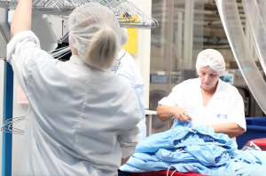 Activity in our cleanroom