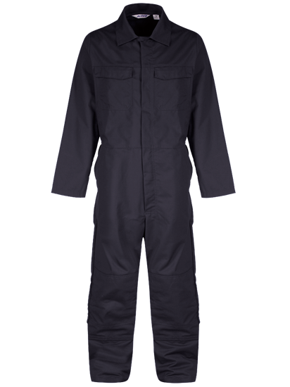 coverall with knee pockets