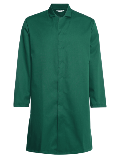 green food trade coat