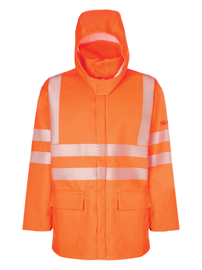hi vis railway jacket multi protect