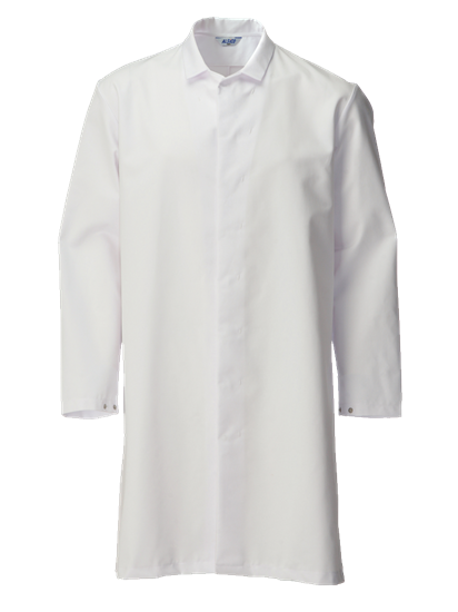 white food trade coat