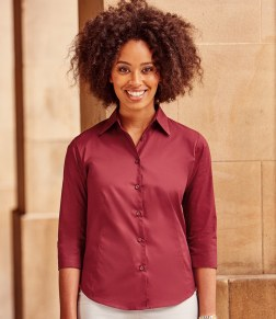 ladies three quarter length shirt