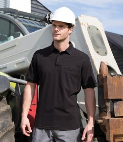 mens work polo