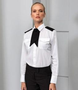 womens long sleeve pilot shirt