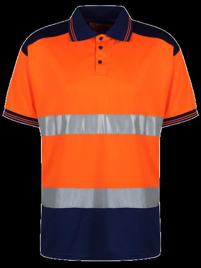 0000510_two-tone-polo-hv-orange_550