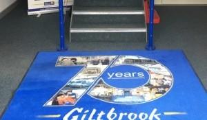 giltbrook 75 years floor mat